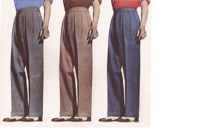 Image from Daks Simpson's trouser advertisement
