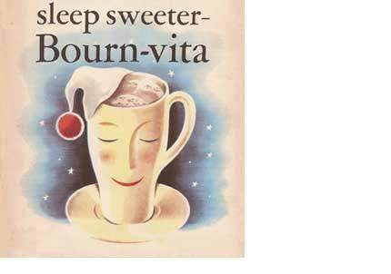 Bornvita mug by Cadbury advertisement