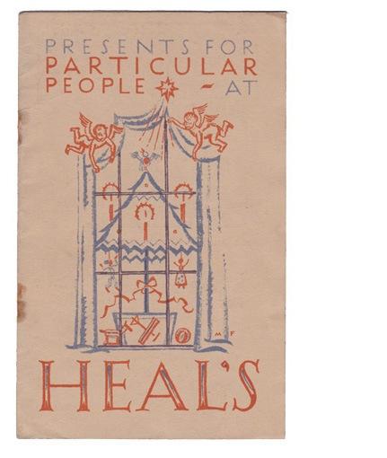 Heals furniture shop Tottenham Court Road booket