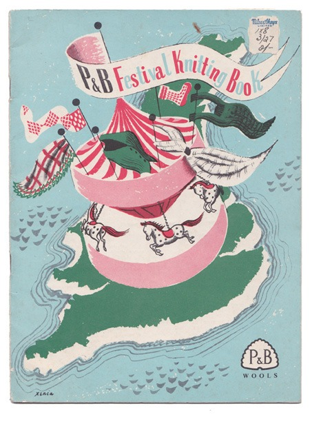 Festival of Britain knitting booklet