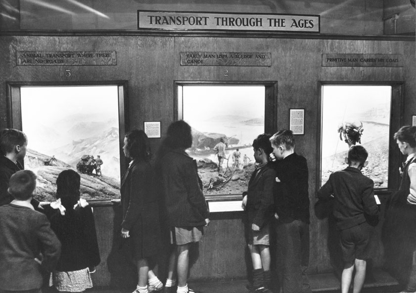 Science Museum London 1940s image Transport Through the Ages