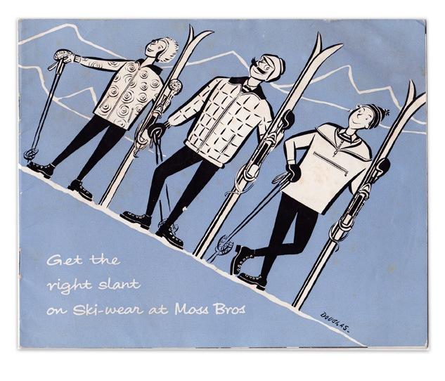 Moss Bros ski brochure from 1961