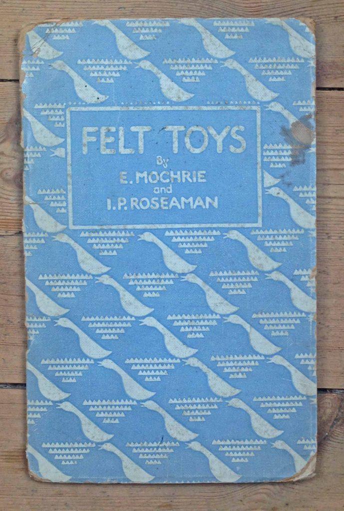Felt Toys Dryad Press book 1935