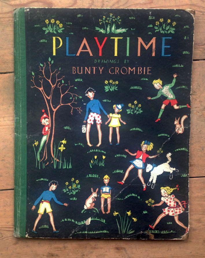 Playtime book by Bunty Crosbie