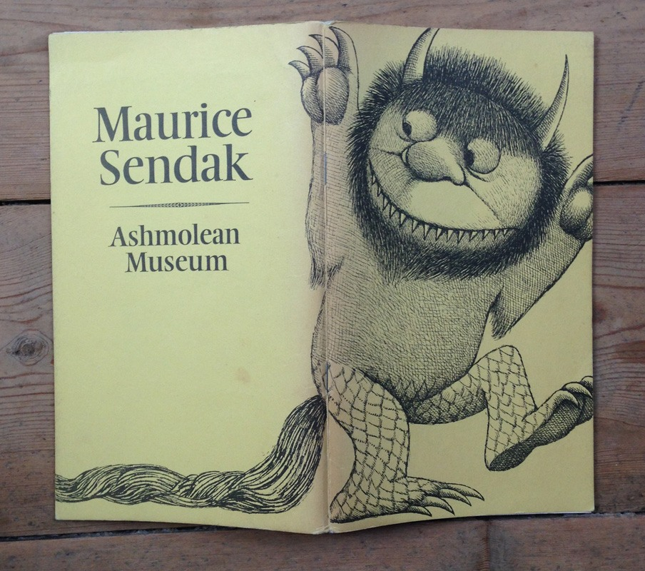 Maurice Sendak exhibition catalogue spread 1975