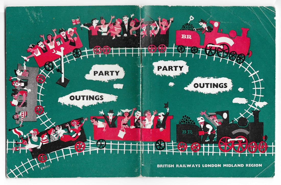 British Rail Party Outings booklet 1959
