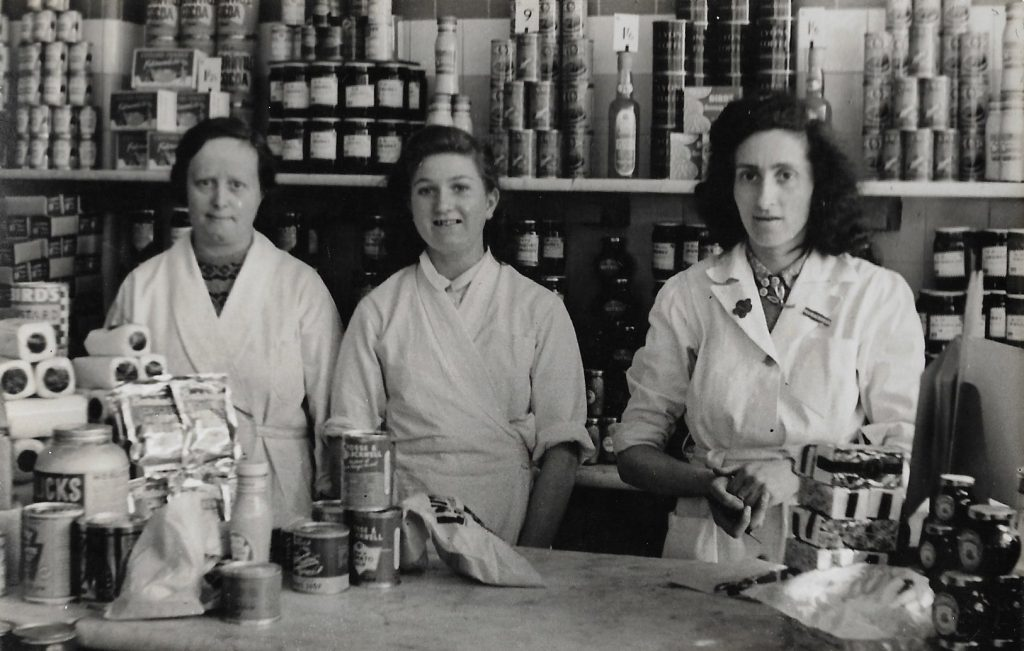 Photograph of 1930s womenshopkeepers